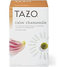 Tazo Calm Chamomile Herbal Tea Filterbags , 20 Count (Pack of 6)