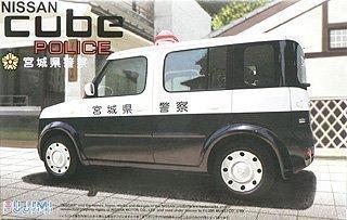 1/24 Auto SPOT Serie Selbst SP48 cube Streifenwagen Miyagi Präfektur Polizei