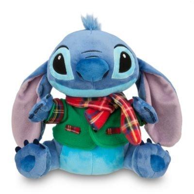 5Star-TD Disney Store 2012 Holiday 12' Medium Plush Christmas Stitch Doll Toy Stuffed Animal NEW