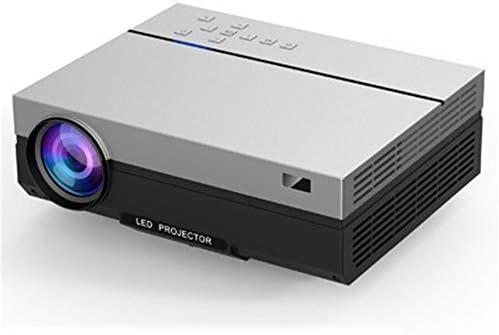 ホームシアター プロジェクター フルHD 1080P解像度4Kホームオフィスの多機能LEDプロジェクター ゲーム機に対応 (Color : Black, Size : 232*308*104mm)