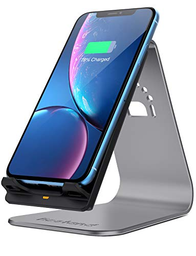 Bestand Qi Wireless Charger, Wireless Charging Stand & Holder Compatible with iPhone XR/XS Max/XS/X / 8/8 Plus, Samsung Galaxy S10/S9/S9+, ()
