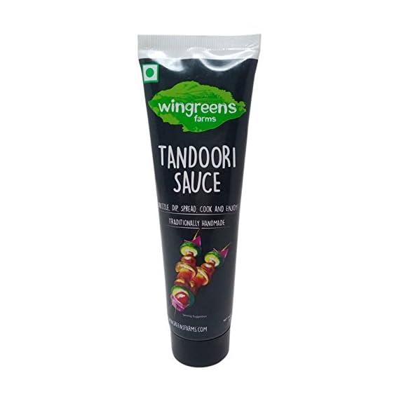 Wingreens Farms Tandoori Sauce, 100g Tube