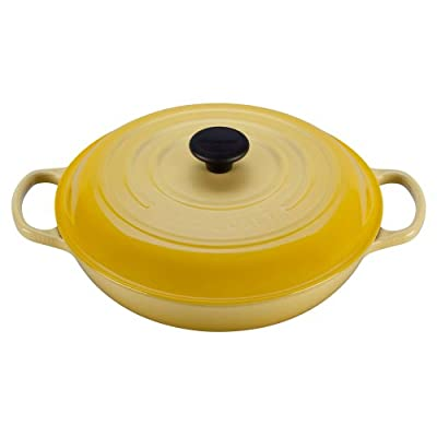 Le Creuset Signature Enameled Cast-Iron 3-1/2-Quart Round Braiser