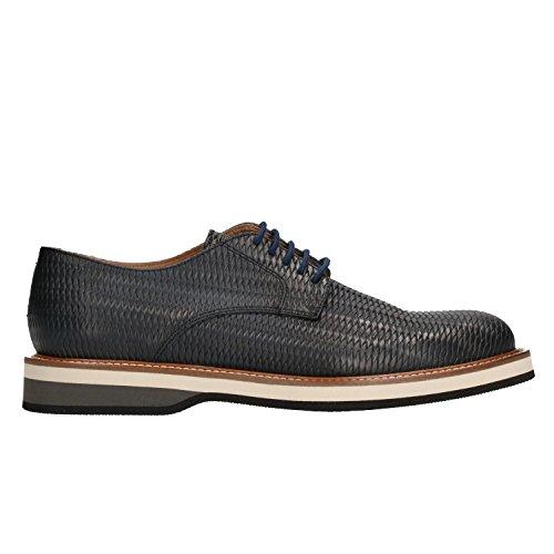 Frau Verona 33Q1 Chaussures à Lacets Homme Blue 44 AEt5RfFHmT