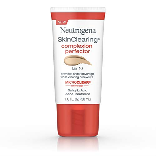 Neutrogena Skinclearing Complexion Perfector With Salicylic Acid, Fair, 1 Fl. Oz.