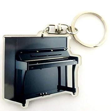 Llavero de acrílico forma Piano Vertical: Amazon.es ...