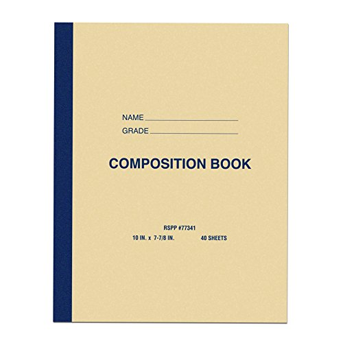 Roaring Spring Paper Products Center Sewn Composition Notebook, 10 x 8 x 1/4 (77341cs) by Roaring Spring (Image #1)