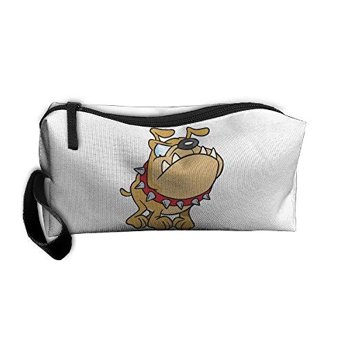 Jessent Coin Pouch Bulldog Pen Holder Clutch Wristlet Wallets Purse Portable Storage Case Cosmetic Bags Zipper (Cleansers Jessica)