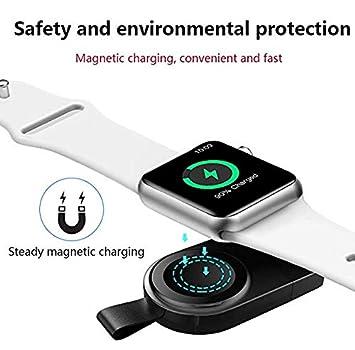 Cargador De Reloj Compatible con Apple Watch, Almohadilla De ...