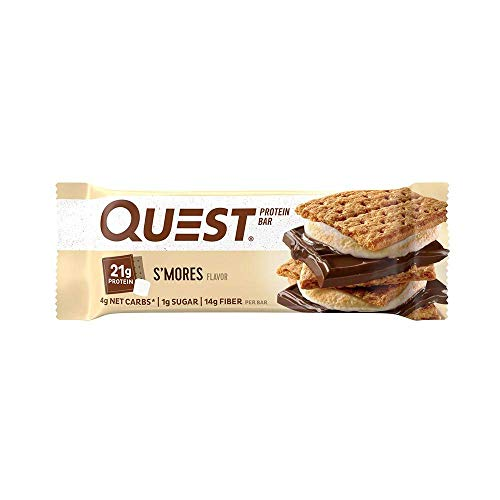 Quest Nutrition Protein Bar Dessert Heaven Variety Pack. Low Carb Meal Replacement Bar with 20g Protein. High Fiber, Gluten-Free (12 COUNT)
