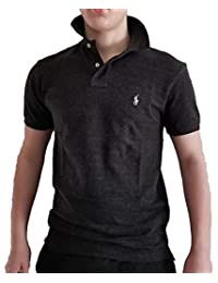 Polo Ralph Lauren Men Slim Fit Pony Logo Mesh Polo Shirt