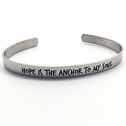 Hope Anchor My Soul Bracelet product image