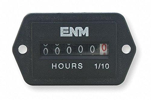 Back Rectangular AC Hour Meter I 6-Digit
