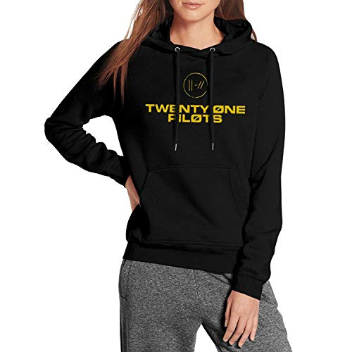 Womens Fleece Warm Pullover Hoodie Sweater Kangaroo Pocket Long Sleeve Novelty Pullover ()