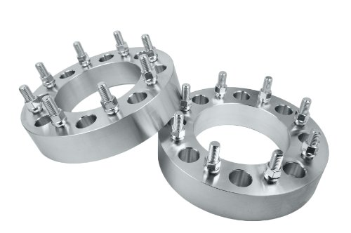 2 Pc Ford Super Duty F-350 Dually Only 2005 - 2014 Heavy Duty 8 Lug Wheel Spacers Adapters 8x200 MM 14x1.5 Studs