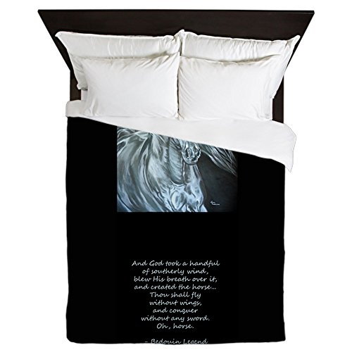 CafePress - Legend Of The Horse - Queen Duvet Cover, Printed Comforter Cover, Unique Bedding, Microfiber by CafePress