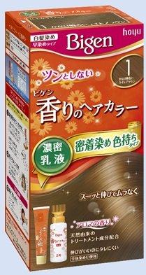ビゲン 香りのヘアカラー 乳液 1 かなり明るいライトブラウン × 27個セット B07115QLR8  27個