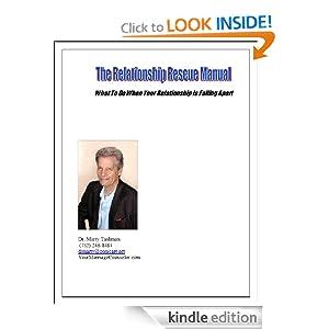 Relationship Rescue Manual Dr. Martin Tashman