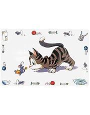 Trixie 24544 skålunderlägg, komisk katt, 44 × 28 cm