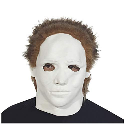 Halloween Horror Smiffy Creepy Latex Pennywise Cosplay Scary Clown Mask -