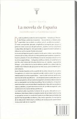 LA NOVELA DE ESPAÑA (PENSAMIENTO): Amazon.es: VARELA TORTAJADA, JAVIER: Libros
