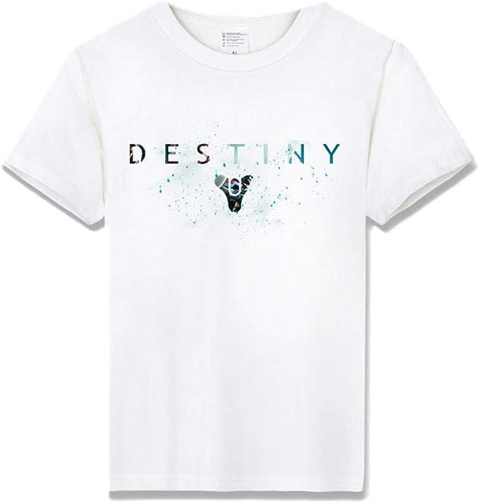 ACEGI - Destiny 2 - Camiseta Estampada - Camiseta Hombre - Cuello Redondo - Moda - Camiseta algodón - Verano: Amazon.es: Ropa y accesorios