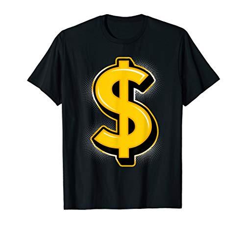 Dollar Sign Shirt Money Maker $ Lover Cash Symbol Art ()