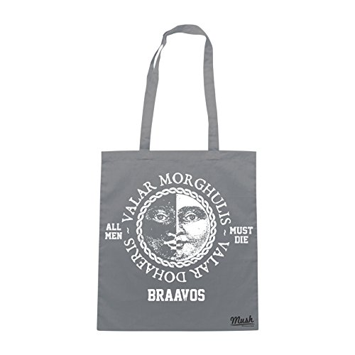 Borsa BRAAVOS GAMES OF THRONES - Grigio - FILM by Mush Dress Your Style
