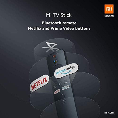 Xiaomi Mi TV Stick Official American Standard Version 1GB RAM + 8GB ROM 1080P HDR Netflix Quad Core 64 Bit Android 9.0 - Black