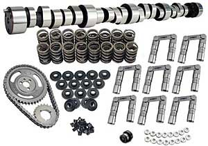 Lunati 40120734K Voodoo 255/263 Solid Roller Complete Cam Kit for Small Block Chevrolet