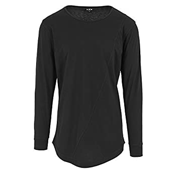 Urbandreamz Herren Longsleeve T-Shirt Shaped Long Tee Rundhals Extra Lang  Oversize Shirt  Amazon.de  Bekleidung a647e7dc82