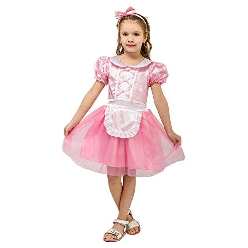 Little Miss Muffet Dress (Kids Little Girl Miss Muffet Dress (5-6Years))