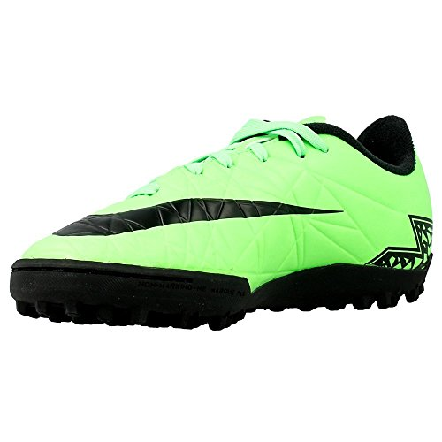 Nike - JR Hypervenom Phelon II - 749922307 - Color: Negro-Verde claro - Size: 28.0