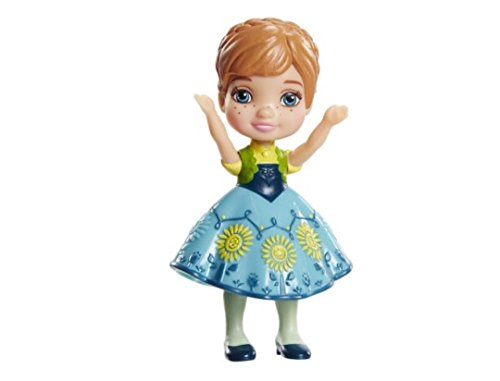 Disney Princess Poseable Anna From Frozen Fever Mini Toddler Doll 3