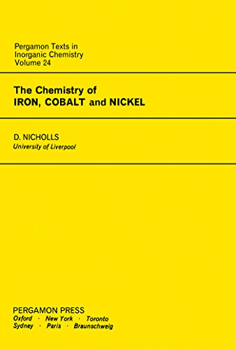 The Chemistry of Iron, Cobalt and Nickel: Comprehensive Inorganic Chemistry