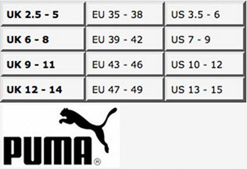 3 pacco verde Puma da tiglio Calzini Unisex Sport qtwx4SX