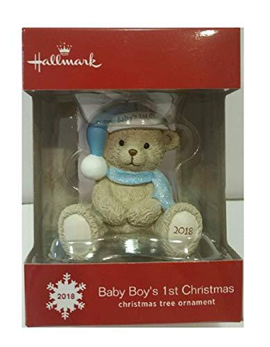 Hallmark 2018 Baby Boy's 1st Christmas Ornament