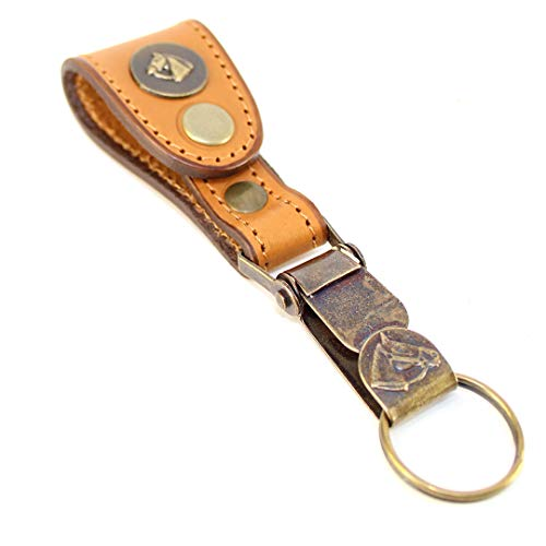 Keychain El Bolson by Unit Genuine Argentina leather sewn by hand. Easy fastening to any belt. Keychain Detachable ()