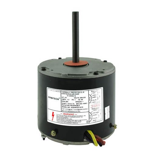 51-20761-01 - OEM Upgraded Ruud Condenser Fan Motor 1/5 HP 208-230 Volts 825 RMP A.O. Smith Rheem