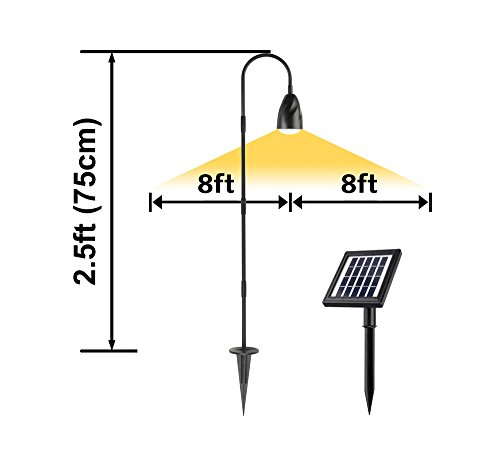 Solar Path Lights With Panel - 3