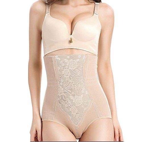 E Support Women's High-rise Breathable Slim Body Sharper Adbomen Briefs