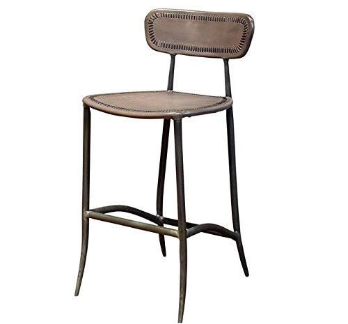 Iron Counter Stools - William Sheppee USA BRS022G Rocket Counter Stool