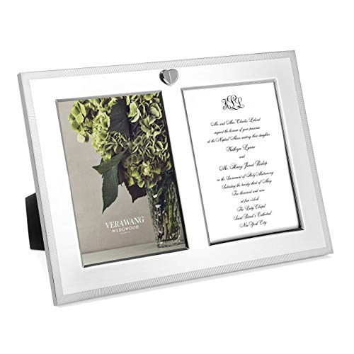 Wedgwood Vera Love Always Frame Double Invitation, - Earrings Wedgewood