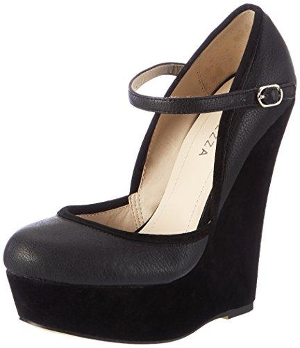 Furiezza, Senhoras Calçar Sapatos De Salto, Eu Preto 36