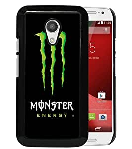 New Design Monster Energy Black Motorola Moto G 2nd Generation Phone Case