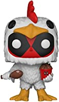 Funko Pop Marvel: Deadpool-Chicken Suit Collectible Figure, Multicolor