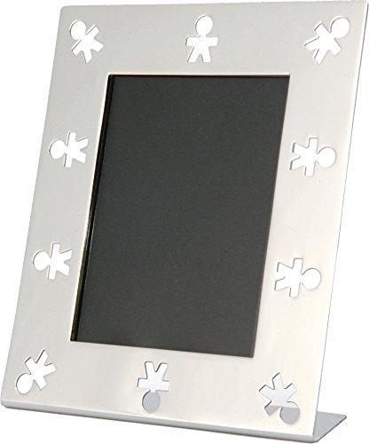 - Alessi Aleesi AKK79 Mini Girotondo Photo Frame, Silver