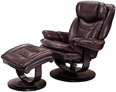 amazon com mac motion oslo collection bergen recliner and ottoman