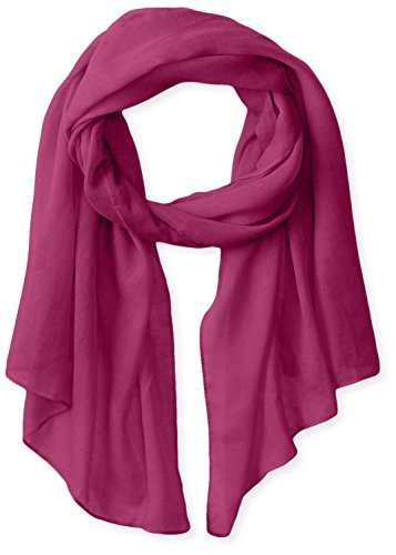 Free Scarf - White Sierra Bug Free Gauze Scarf, Orchid, 1 Size
