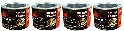 (Legend Roofing Products Zinc Strip Moss Preventer, 2-5/8 x 50 Feet (4-Pack))